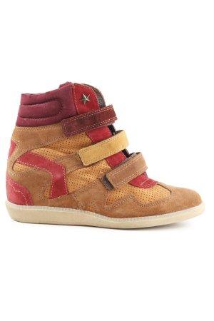 Bullboxer Sneaker con tacco multicolore
