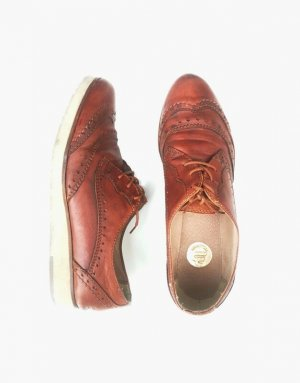 Bullboxer Wingtip Shoes multicolored leather