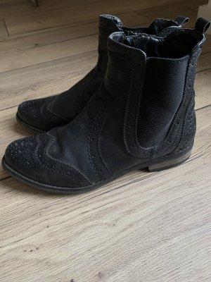 Bullboxer Leder Boots Chelsea Gr. 39