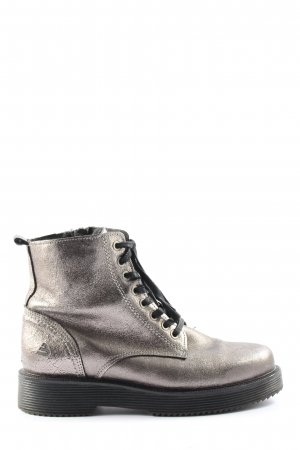 Bullboxer Zipper Booties silver-colored casual look