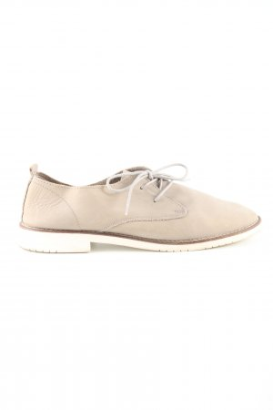 Bullboxer Lace Shoes natural white business style