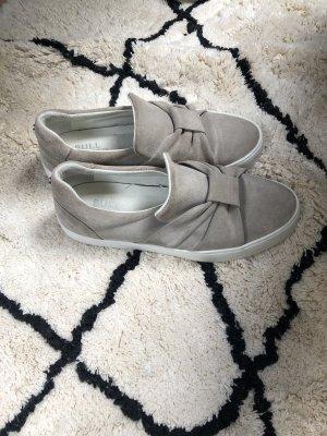 Bullboxer Slip-on Shoes light grey-grey