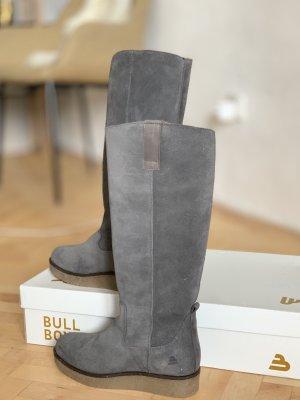 Bullboxer Heel Boots grey brown