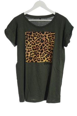 BumBum Shirt met print luipaardprint casual uitstraling