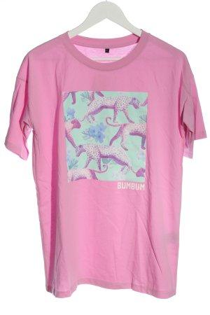BumBum Shirt met print prints met een thema casual uitstraling