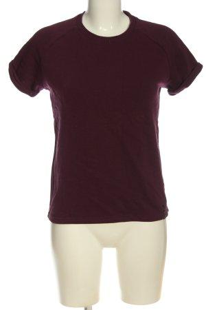 BumBum T-shirts en mailles tricotées brun torsades style décontracté