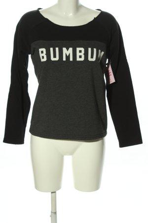 BumBum Sweatshirt lettrage imprimé style décontracté