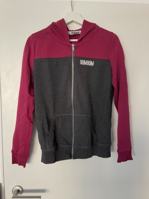 BumBum Veste chemise gris anthracite-violet
