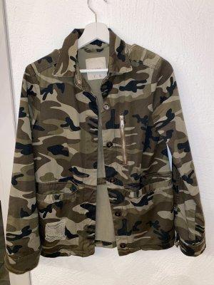 Pull & Bear Military Jacket khaki