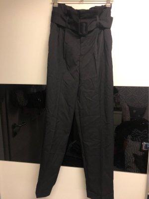 H&M Bandplooibroek zwart