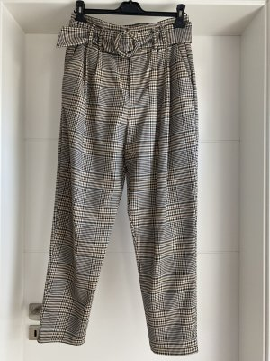 Zara Bandplooibroek veelkleurig Polyester