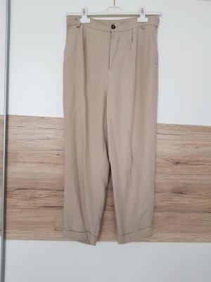 bundfaltenhose chinohose von Zara