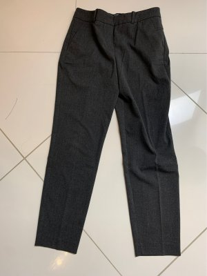Mango Pleated Trousers anthracite
