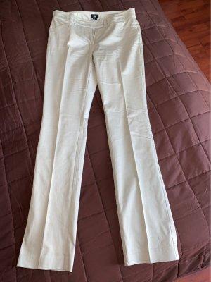 H&M Pantalón de pinza crema-beige claro