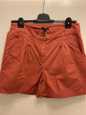 H&M High waist short baksteenrood