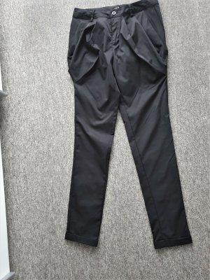 Jennifer Taylor Pantalon à pinces noir polyester