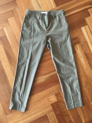 Stefanel Pantalon à pinces beige-brun noir