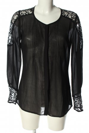 bunoh.q Lace Blouse black elegant