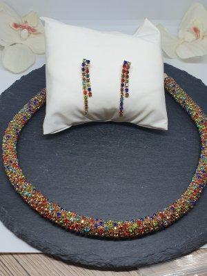 Catena d'oro multicolore