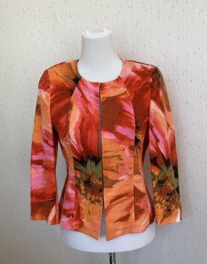 Basler Short Blazer multicolored cotton
