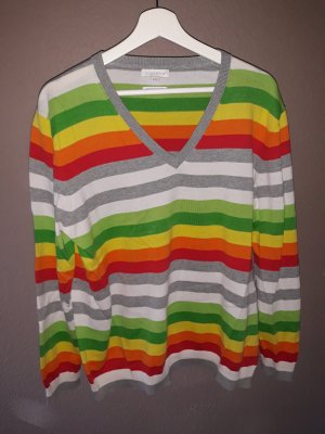 Brookshire V-Neck Sweater multicolored