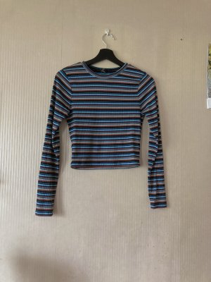 bunt gestreiftes langarm Shirt vintage 90s