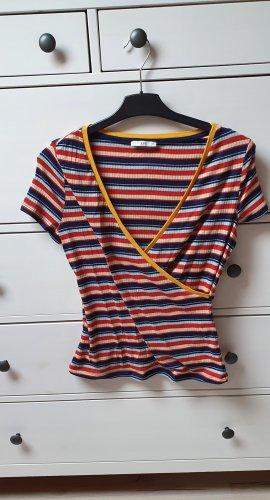 edc by Esprit Camisa acanalada multicolor