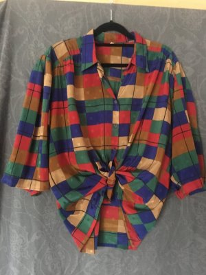 Bunt kariertes Vintage-Hemd