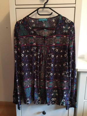 Cool Code Long Sleeve Blouse multicolored