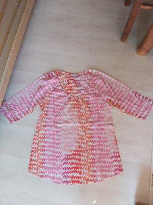 bunte Bluse von ESPRIT # tolle Farben pink/rose/orange