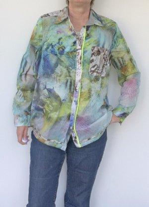 Otto Kern Long Sleeve Blouse multicolored mixture fibre