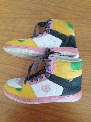 Graceland Bottes à lacets multicolore