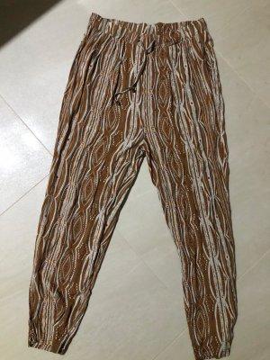 Esmara Pantalon chinos marron clair-brun sable viscose