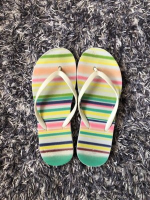 Flip flop sandalen wit