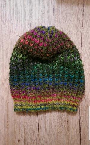 Rinascimento Knitted Hat multicolored