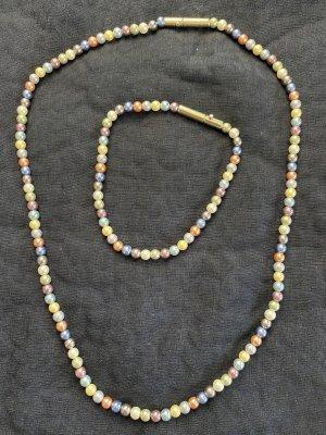 Pierre Lang Collar de perlas multicolor