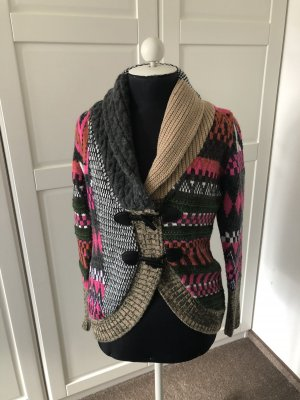 BC Veste en tricot multicolore