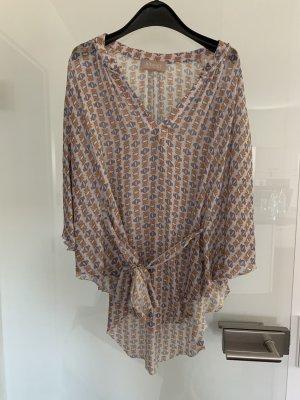 81 hours Blusa de túnica multicolor Viscosa