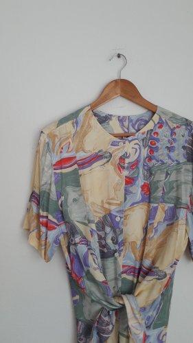 Vintage Camicia oversize multicolore