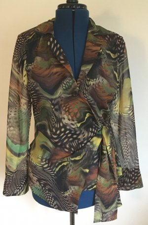 Weise Transparante blouse veelkleurig Polyester