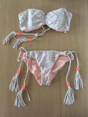 Victoria's Secret Bikini dusky pink-oatmeal