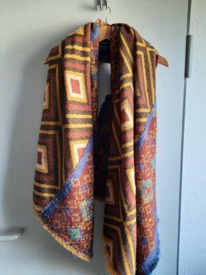 Six Crochet Scarf multicolored