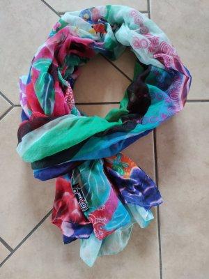 Desigual Bufanda tubo multicolor