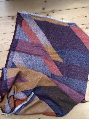 Esprit Bufanda de lana multicolor