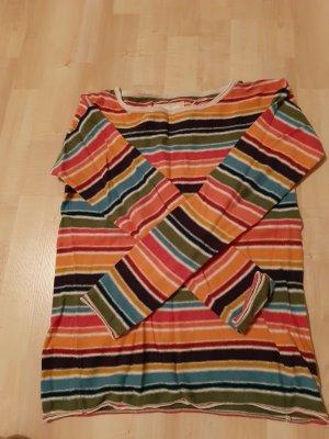 Bunter Feinstrick Pullover