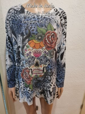 Made in Italy Pull oversize multicolore