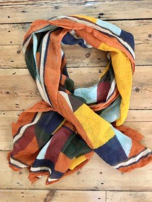 Bunter großer Schal von Zara