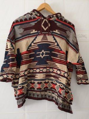 H&M Divided Poncho multicolore