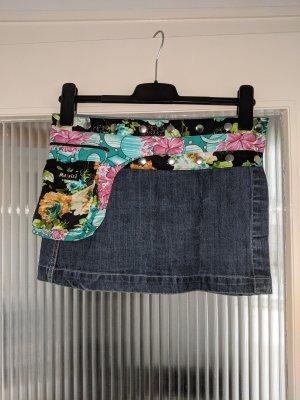 Moshiki Kopertowa spódnica Wielokolorowy