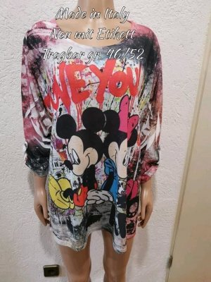 Bunter Micky Mouse Pullover